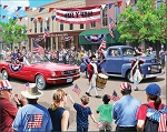 4th of July Parade Jigsaw Puzzle, 1000 pc., by White Mountain Puzzles, #1528PZ