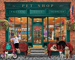 Local Pet Shop Jigsaw Puzzle, 550 pc., by White Mountain Puzzles, #1561PZ