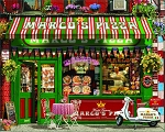 Pizza Parlor Jigsaw Puzzle, 1000 pc., by White Mountain Puzzles, #1594PZ