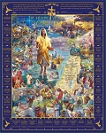 Healings Of Jesus Jigsaw Puzzle, 1000 pc., by White Mountain Puzzles, #1598PZ