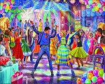 Let's Dance Jigsaw Puzzle, 1000 pc., by White Mountain Puzzles, #1603PZ