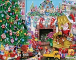 Christmas Toys Jigsaw Puzzle, 1000 pc., by White Mountain Puzzles, #1610PZ