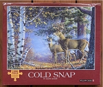 Cold Snap Jigsaw Puzzle, 1000 pc., by Willow Creek Press, #48161