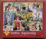 Gettin' Squirrelly Jigsaw Puzzle, 1000 pc., by Willow Creek Press, #48598