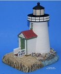 Scaasis Large Lighthouse Replica, Brant Point, Massachusetts, SC046B