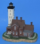 Scaasis Large Lighthouse Replica, Presque Isle, Pennsylvania, SC084B