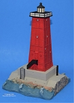 Scaasis Large Lighthouse Replica, Manistique, Michigan, SC165B