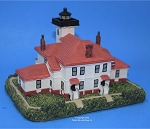 Scaasis Large Lighthouse Replica, Raspberry Island, Wisconsin, SC287B