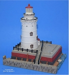 Scaasis Large Lighthouse Replica, Harbor Beach, Michigan, SC293B