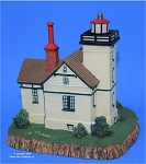 Scaasis Large Lighthouse Replica, Mendota, Michigan, SC298B