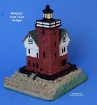 027MIN Scaasis Mini Lighthouse, Round Island, Michigan