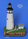 036MIN Scaasis Mini Lighthouse, Amelia Island, Florida