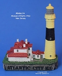 174MIN Scaasis Mini Lighthouse, Absecon, New Jersey