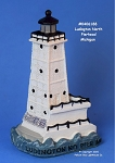 188MIN Scaasis Mini Lighthouse, Ludington North Pierhead, Michigan