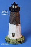 193MIN Scaasis Mini Lighthouse, Point Judith, Rhode Island