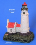 198MIN Scaasis Mini Lighthouse, Heceta Head, Oregon