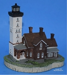 Scaasis Small Lighthouse Replica, Presque Isle, Pennsylvania, SC084S