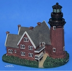 Scaasis Small Lighthouse Replica, Block Island, S.E., Rhode Island, SC096S