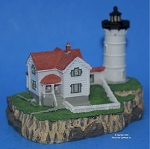 Scaasis Small Lighthouse Replica, Cape Neddick, Maine, SC114S