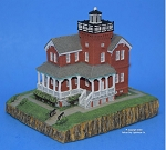 Scaasis Small Lighthouse Replica, Sea Girt, New Jersey, SC132S