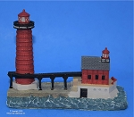 Scaasis Small Lighthouse Replica, Grand Haven South Pierhead, Michigan, SC143S