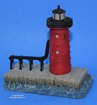 SC164S Scaasis Small Lighthouse Replica,  South Haven, Michigan
