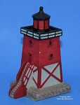 Scaasis Small Lighthouse Replica, Charlevoix, Michigan, SC168S