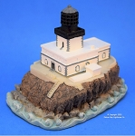 Scaasis Small Lighthouse Replica, Tilllamook Rock, Oregon, SC217S