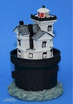 Scaasis Small Lighthouse Replica, Fourteen Foot Bank, Delaware, SC229S