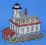 Scaasis Small Lighthouse Replica, Rose Island, Rhode Island, SC272S