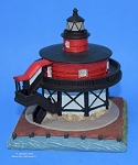 Scaasis Small Lighthouse Replica, Seven Foot Knoll, Maryland, SC281S