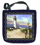 T701 Lighthouse Tote Bag