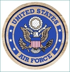 U.S. Air Force Thirstystone Coasters, Set of 4, TS251