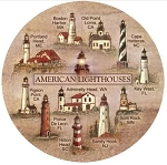 Lighthouses Thirstystone Coasters, Set of 4, TS507