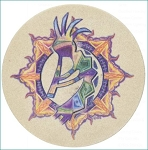 Sun Dancer Thirstystone Coasters, Set of 4, TS2005