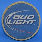 Bud Light Thirstystone Coasters, Set of 4, TSAB2