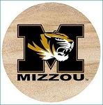University of Missouri Tigers Thirstystone Coasters, Set of 4, TSUMO