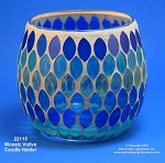 22115 Mosaic Votive Candle Holder