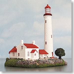 HL233 Harbour Lights Ltd. Ed. Lighthouse, Cove Island, Ontario, Canada