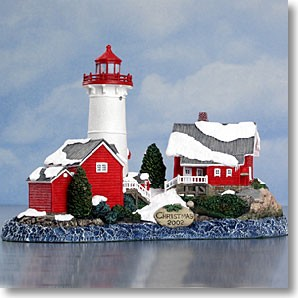 HL714 Harbour Lights Limited Edition, Crossover Island, NY. 2002 Christmas Edition