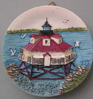 Circular Magnet, Thomas Point Lighthouse, Maryland