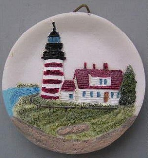 Circular Magnet, West Quoddy Lighthouse, Maine