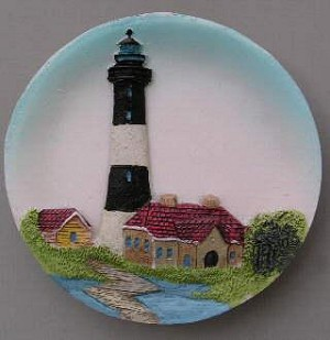 Circular Magnet, Fire Island Lighthouse, New York