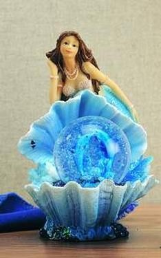 Mermaid on Shell Waterball