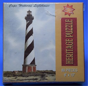 Cape Hatteras Lighthouse Jigsaw Puzzle, 80 pc, by Heritage