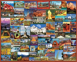 Best Places In America Jigsaw Puzzle, 1000 pc.