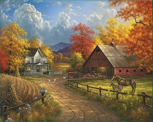 Country Blessings Jigsaw Puzzle, 1000 pc.