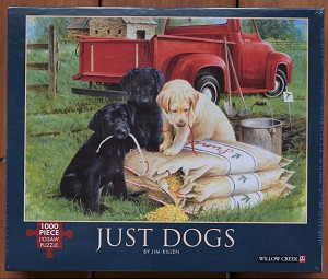 Just Dogs Jigsaw Puzzle, 1000 pc.