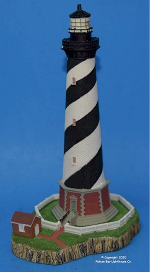 Scaasis Large Lighthouse Replica, Cape Hatteras, North Carolina