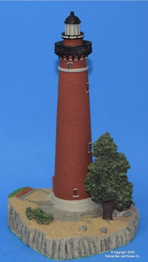 Scaasis Large Lighthouse Replica, Little Sable, Michigan